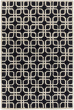 Artistic Weavers Transit Madison Onyx Black/Beige Area Rug main image