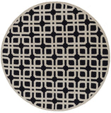 Artistic Weavers Transit Madison Onyx Black/Beige Area Rug Round