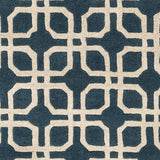 Artistic Weavers Transit Madison Teal/Ivory Area Rug Swatch