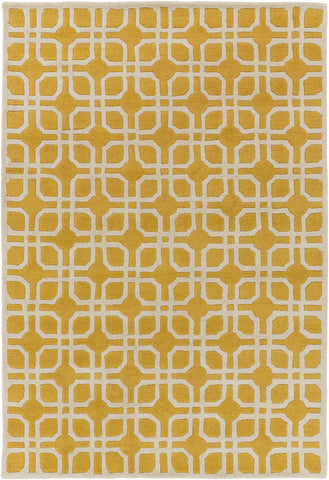 Artistic Weavers Transit Madison Sunflower/Ivory Area Rug main image