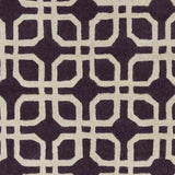 Artistic Weavers Transit Madison Plum/Beige Area Rug Swatch