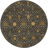 Artistic Weavers Middleton Alexandra Slate/Gold Area Rug Round