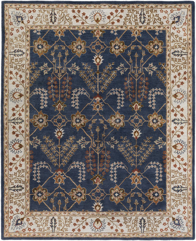 Artistic Weavers Middleton Kelly Navy Blue/Nutmeg Area Rug main image