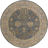 Artistic Weavers Middleton Kelly Gray/Light Gray Area Rug Round