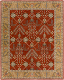 Artistic Weavers Middleton Kelly Crimson Red/Gold Area Rug main image