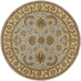 Artistic Weavers Middleton Virginia Light Blue/Tan Area Rug Round