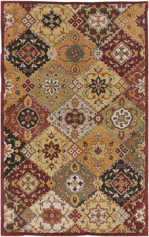 Artistic Weavers Buckingham Sophia Burgundy/Terra Cotta Area Rug main image