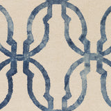 Artistic Weavers Organic Julia Navy Blue/Ivory Area Rug Swatch