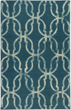 Artistic Weavers Organic Julia Teal Area Rug main image
