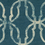 Artistic Weavers Organic Julia Teal Area Rug Swatch