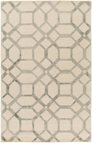 Artistic Weavers Organic Brittany Light Gray/Ivory Area Rug main image