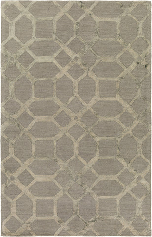 Artistic Weavers Organic Brittany Gray/Light Gray Area Rug main image