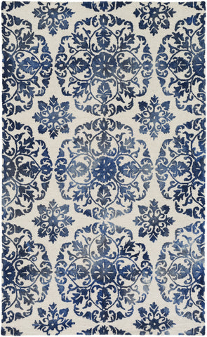 Artistic Weavers Organic Danielle Navy Blue/Ivory Area Rug main image