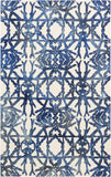 Artistic Weavers Organic Avery Navy Blue/Ivory Area Rug main image