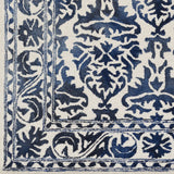 Artistic Weavers Organic Evelyn Navy Blue/Ivory Area Rug Swatch