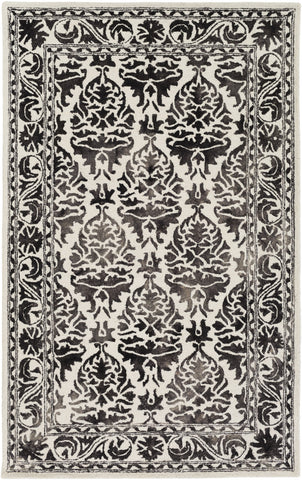Artistic Weavers Organic Evelyn Onyx Black/Ivory Area Rug main image