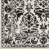 Artistic Weavers Organic Evelyn Onyx Black/Ivory Area Rug Swatch