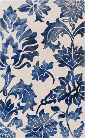 Artistic Weavers Organic Chloe Royal Blue/Ivory Area Rug main image