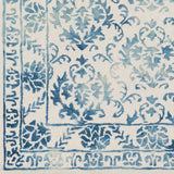 Artistic Weavers Organic Aubrey Turquoise/Ivory Area Rug Swatch