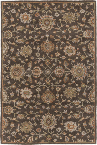 Artistic Weavers Origin Abigail Chocolate Brown/Nutmeg Area Rug main image