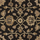 Artistic Weavers Origin Abigail Onyx Black/Taupe Area Rug Swatch