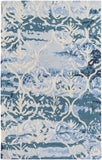 Artistic Weavers Pacific Holly Teal/Light Blue Area Rug main image