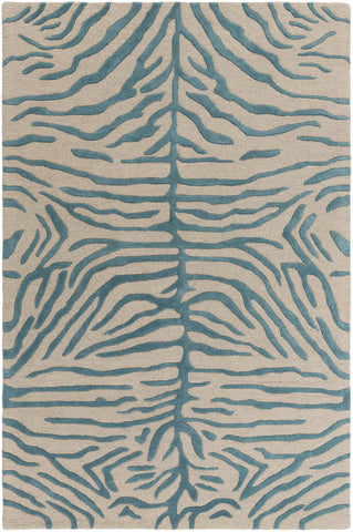 Artistic Weavers Pollack Hannah Teal/Taupe Area Rug main image