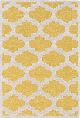 Artistic Weavers Arise Hadley Bright Yellow/Beige Area Rug main image