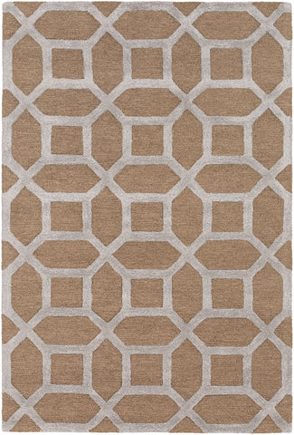 Artistic Weavers Arise Evie Tan/Light Gray Area Rug main image