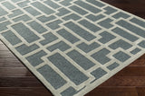 Artistic Weavers Arise Addison Charcoal/Light Gray Area Rug Corner Shot