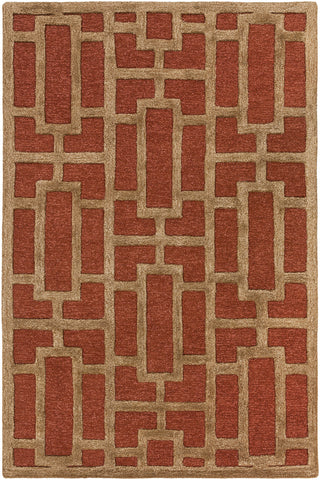Artistic Weavers Arise Addison Rust/Tan Area Rug main image