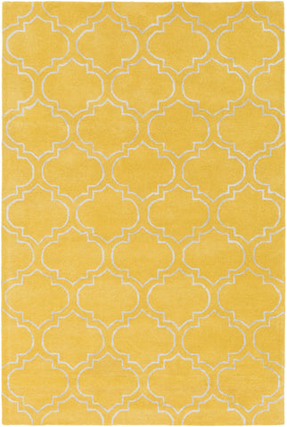 Artistic Weavers Signature Emily Bright Yellow/Ivory Area Rug main image