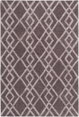 Artistic Weavers Silk Valley Lila Taupe/Gray Area Rug main image