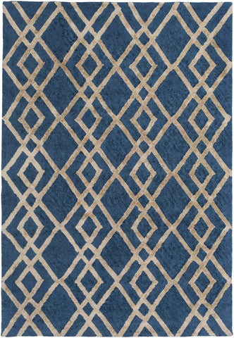Artistic Weavers Silk Valley Lila Turquoise/Taupe Area Rug main image