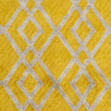 Artistic Weavers Silk Valley Lila Bright Yellow/Light Gray Area Rug Swatch
