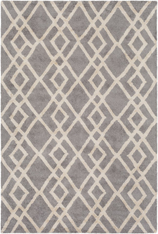Artistic Weavers Silk Valley Lila Gray/Ivory Area Rug main image