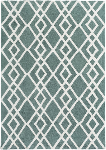 Artistic Weavers Silk Valley Lila Sage Green/Ivory Area Rug main image