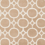 Artistic Weavers Transit Taylor Tan/Ivory Area Rug Swatch