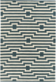 Artistic Weavers Transit Sawyer Teal/Ivory Area Rug Main