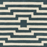 Artistic Weavers Transit Sawyer Teal/Ivory Area Rug Swatch