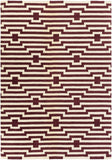 Artistic Weavers Transit Sawyer Burgundy/Ivory Area Rug Main