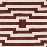 Artistic Weavers Transit Sawyer Burgundy/Ivory Area Rug Swatch