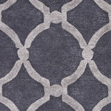 Artistic Weavers Urban Lainey Charcoal/Gray Area Rug Swatch