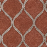 Artistic Weavers Urban Cassidy Terra Cotta/Taupe Area Rug Swatch