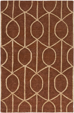 Artistic Weavers Urban Marie Rust/Tan Area Rug main image