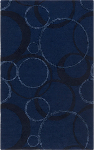 Artistic Weavers Alexander Ross Navy Blue/Royal Blue Area Rug main image