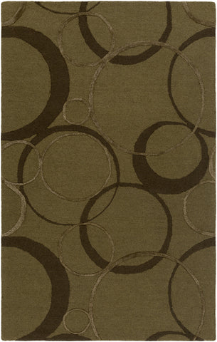Artistic Weavers Alexander Ross Mustard/Chocolate Brown Area Rug main image