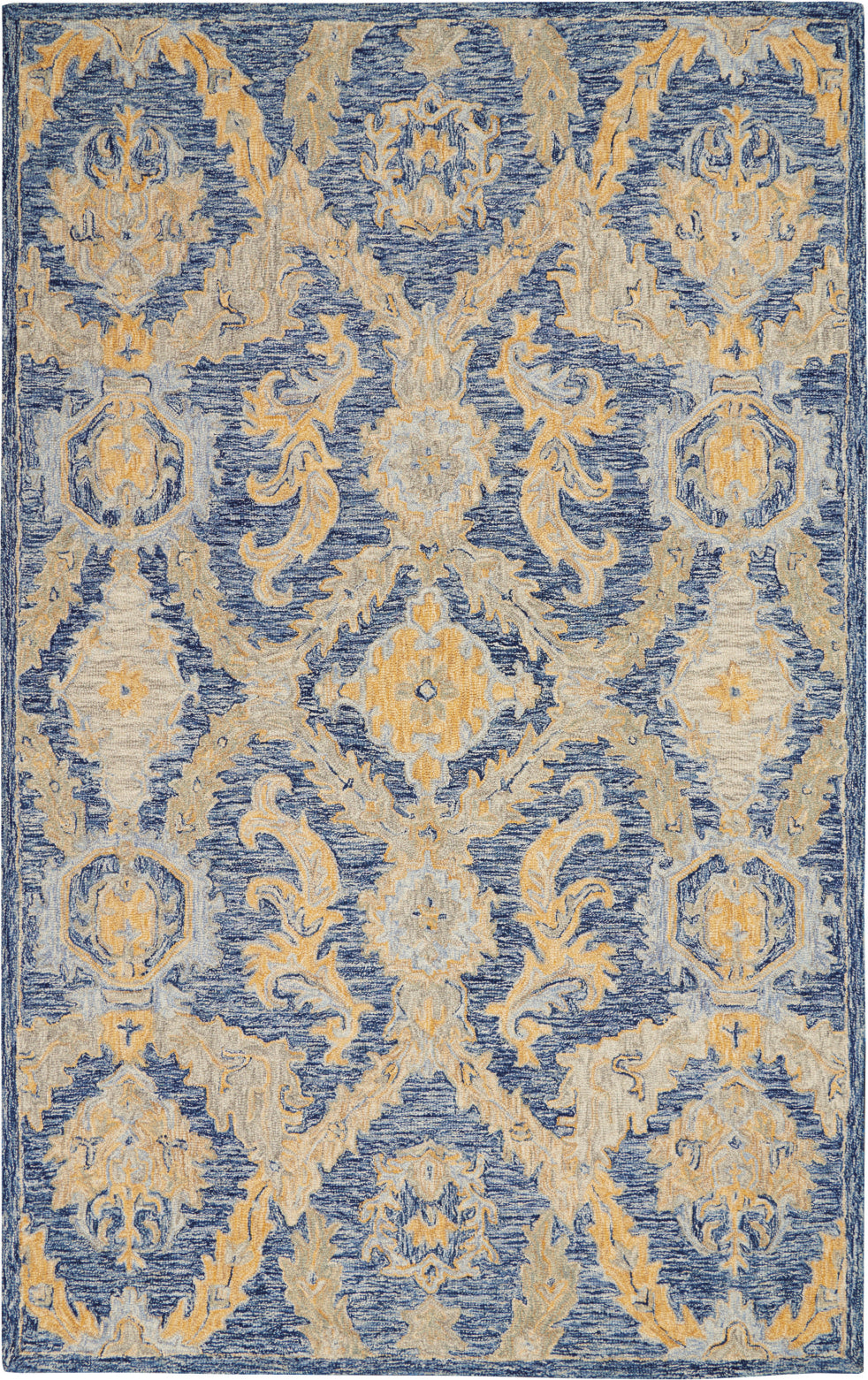 Azura AZM03 Navy Blue Area Rug by Nourison main image