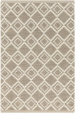 Surya Aztec AZT-3012 Light Gray Area Rug 5' x 8'
