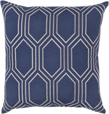 Surya Skyline BA007 Pillow 22 X 22 X 5 Down filled